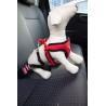 CHABA Kurtka pikowana z odblaskiem Czerwona