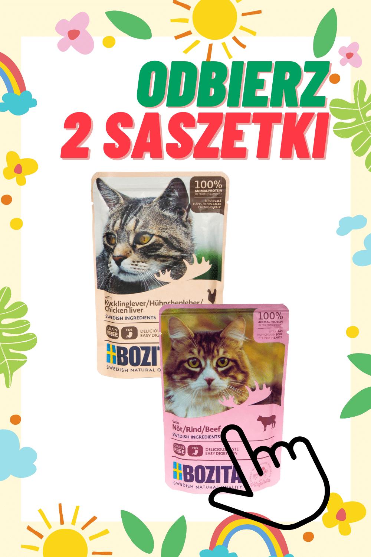 Bozita dla kota + 2 saszetki Gratis